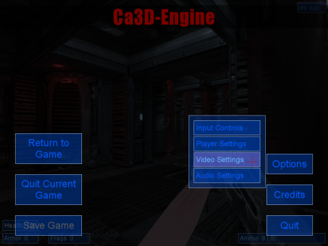 Ca3D-Engine (Ca3DE) - künftig: Cafu Engine