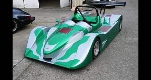 Der Protoyp des Fahrzeugs für die Le-Mans-Serie (Foto: GreenGT)