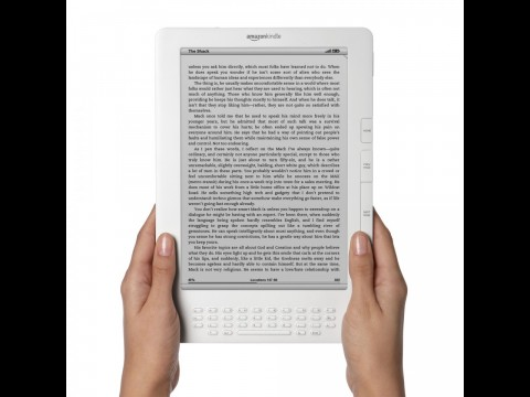 Kindle DX - Amazons E-Book-Reader mit 9,7-Zoll-E-Ink-Display