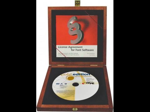 Linotype GoldEdition 2.0 - Schriftart-Sammlung auf DVD