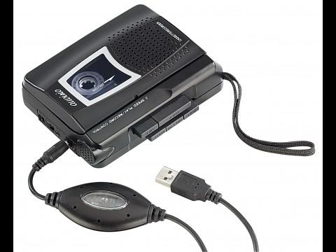 Auvisio Tape2PC - USB-Kassettendeck