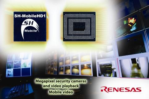 Renesas SH-MobileHD1 - Handychip für Aufzeichnung und Wiedergabe in Full-HD-Qualität