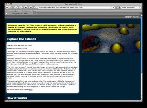 Firefox 3.5 - CSS-Filter