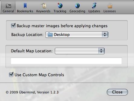 Geotagging für Apples Aperture -