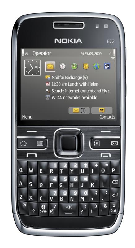 Nokia E72 mit Minitastatur und 5-Megapixel-Kamera - Nokia E72