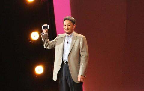 Kaz Hirai präsentierte die PSP Go.
