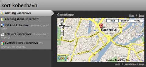 Ubiquity 0.5 in dänischer ...
