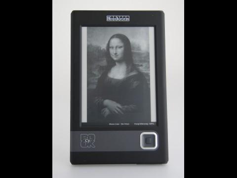 Das Gerät zeigt Bilder - allerdings nur in vier Graustufen und in geringer Auflösung. (Foto: wp)
