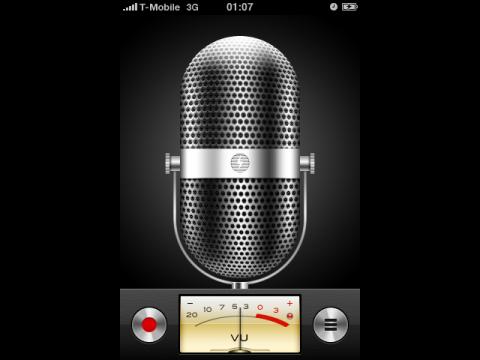 Der neue Sprachrekorder
