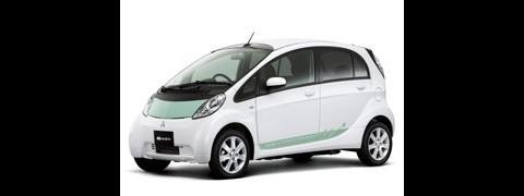 i-MiEV heißt Mitsubishis elektrisch betriebener Kleinwagen. (Foto: Mitsubishi)