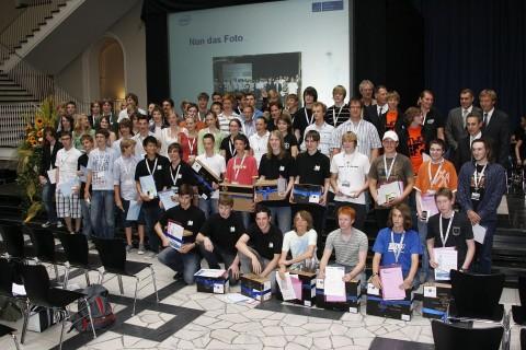Alle Preisträger der Intel-Leibniz-Challenge 2009