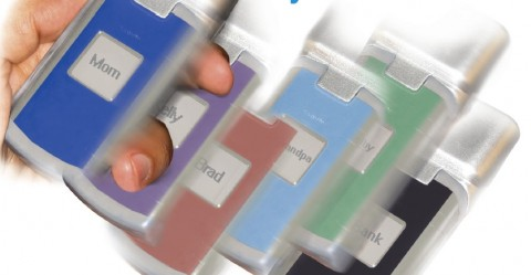 Reflex Electronic Skin von Kent Displays - sorgt für wechselnde Gehäusefarben