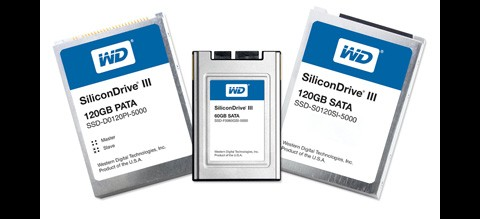 Western Digitals SSD-Serie SiliconDrive III