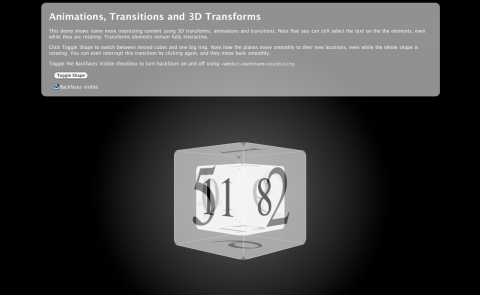 3D-Transforms - Animationen, Transitions und 3D-Transforms kombiniert
