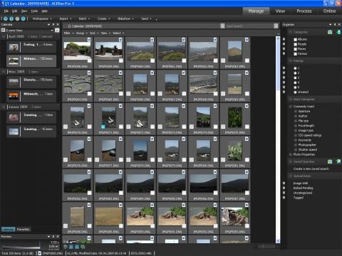 ACDSee Pro Photo 3 - Manage-Modus