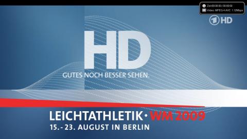 HD-Testbild der ARD auf Astra