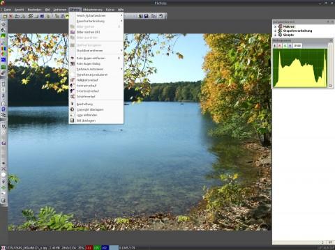 FixFoto 3.0 - Effektmenü