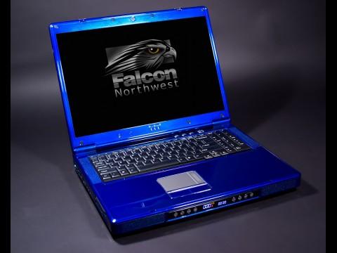 Fragbook DRX von Falcon Northwest mit Core i7