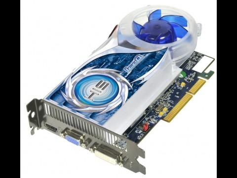 HIS HD 4670 IceQ - Radeon-HD-4670-Grafikkarte für den AGP-Bus