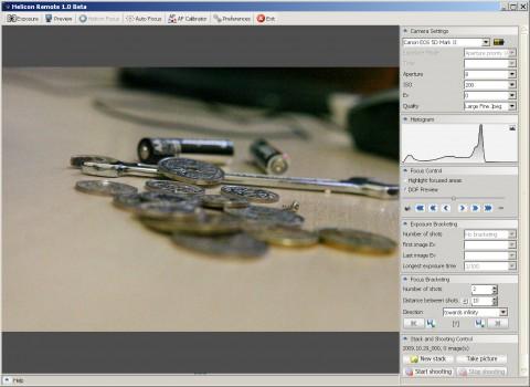 Helicon Focus Pro Remote