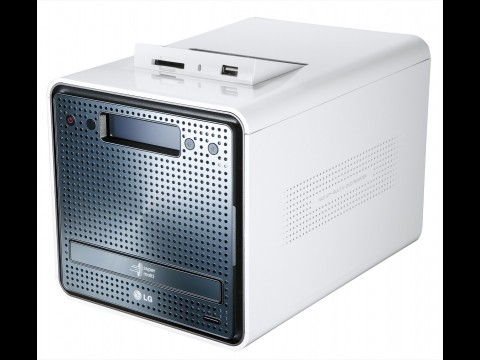 LG N2R1 - Netzwerkspeicher mit DVD-Brenner