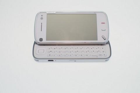 Nokia N97 - Tastatur zum einfacheren Tippen
