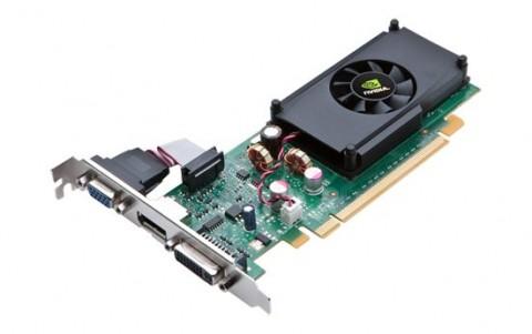 Nvidias Geforce 210. Früher auch als G 210 bekannt ...