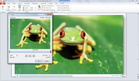 PowerPoint 2010 - Video-Trim