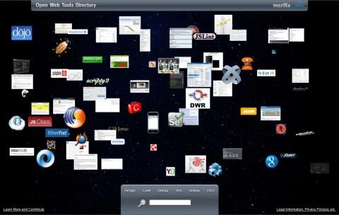 Mozillas Open Web Tools Directory
