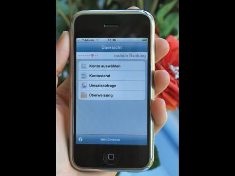 T-Banking - Onlinebanking mit dem iPhone - Golem.de