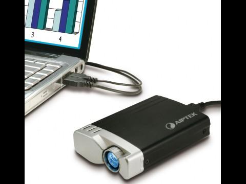 Aiptek PocketCinema T20 - Pico-Projektor als Notebookzubehör