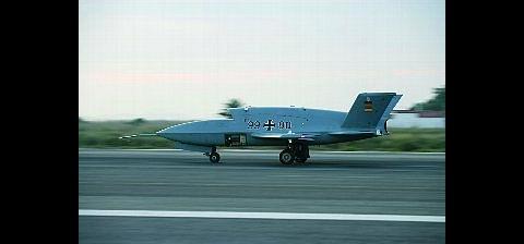 Die EADS-Drohne Barracuda (Foto: EADS)