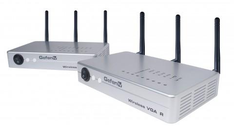 Wireless-VGA-Extender GTV-WVGA LR (Longe Range) - Vorderseite