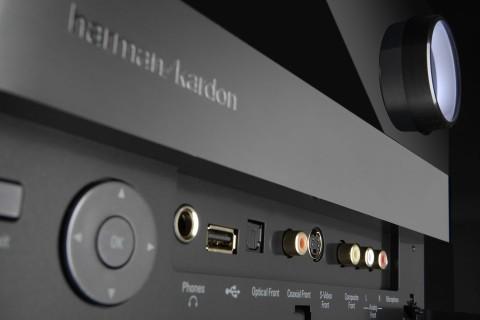 Harman Kardon AVR 760 - AV-Receiver mit Ethernet und USB