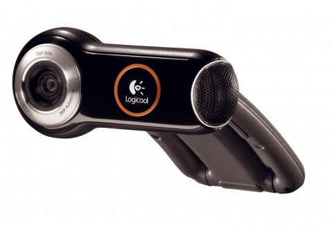 Logitech Webcam/Quickcam Pro 9000 - 2-Megapixel-Webcam mit Carl-Zeiss-Glasobjektiv und Autofokus