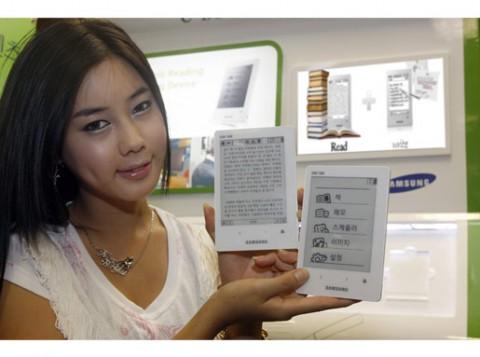 Samsungs E-Book-Reader SNE-50K kommt zuerst in Südkorea auf den Markt. (Foto: Samsung)