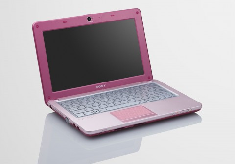 Sony W-Series-Netbook VPCW11S1E - in Pink