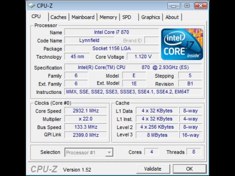 Core i7 870