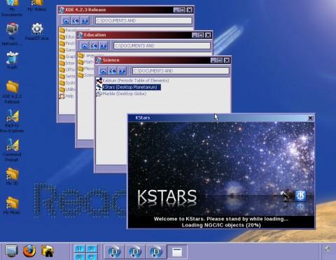 KDE-Programme unter ReactOS
