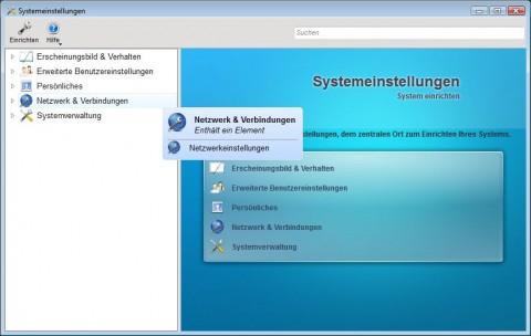 Die KDE-Systemeinstellungen unter Windows