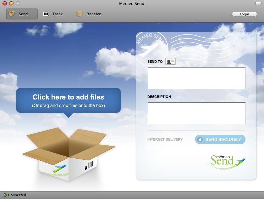 Memeo will den Versand großer Dateien erleichtern - Memeo - Mac-Client