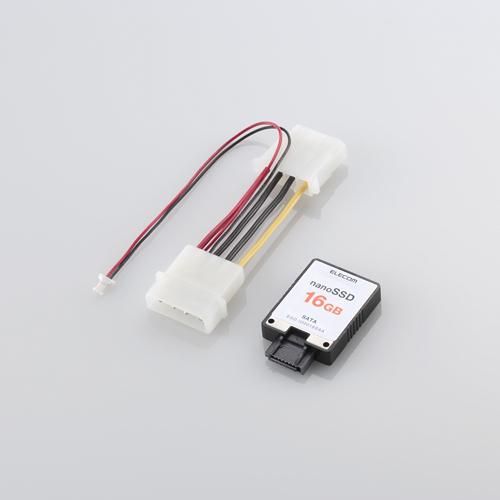 Kleine SATA-SSD zum Aufstecken von Elecom -