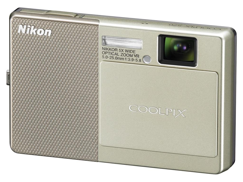 OLED-Touchscreen als Autofokus-Hilfe - Nikon Coolpix S70