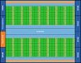 Blockdiagramm Fermi, in der Mitte das Shared Memory
