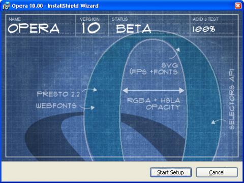 Opera 10 erreicht die dritte Beta ...