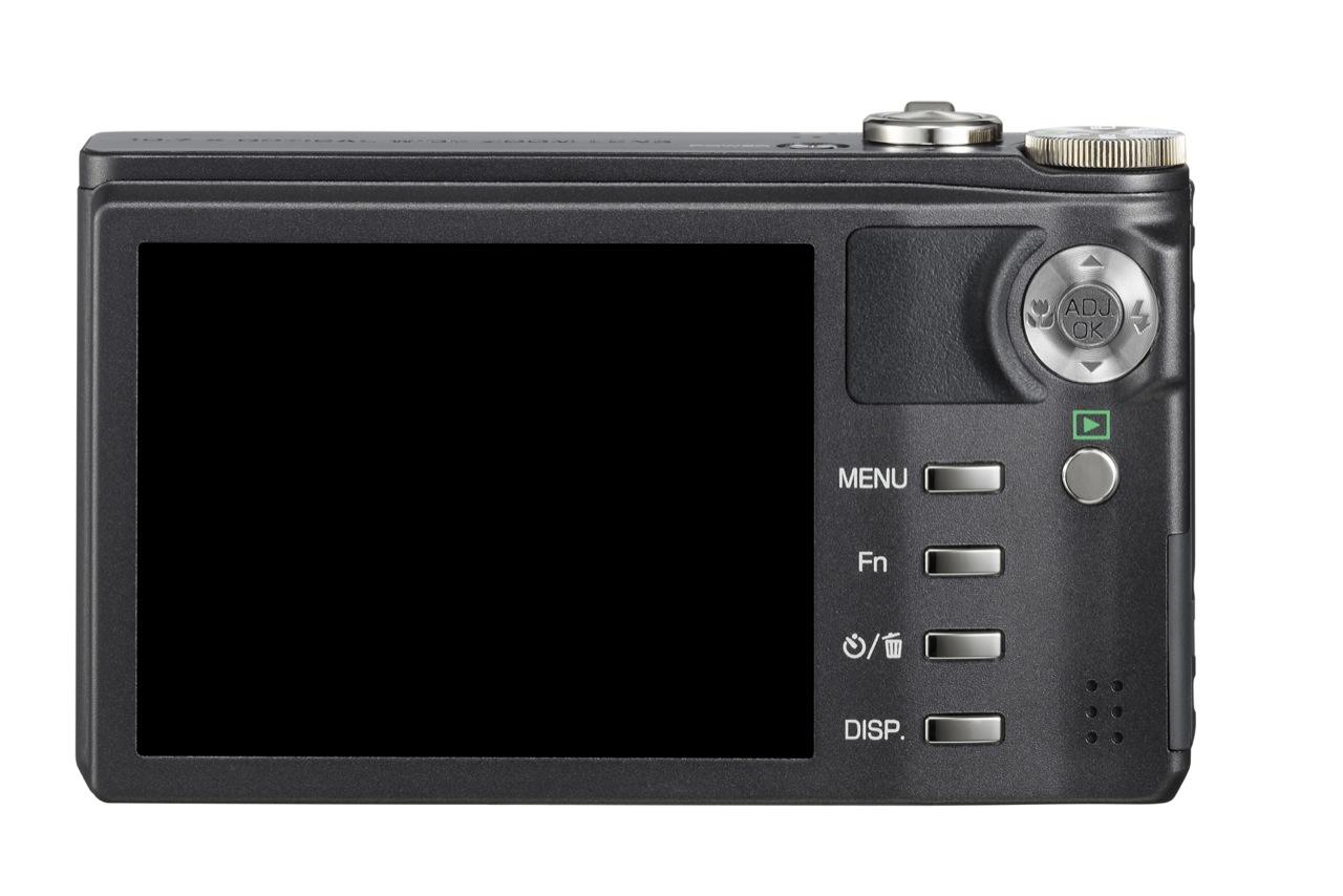 Ricoh CX2: Klappobjektiv ermöglicht 10,7fach-Zoom - Ricoh CX2