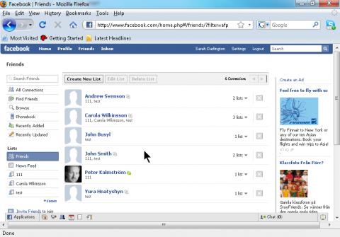 Skype-Namenserkennung in Facebook
