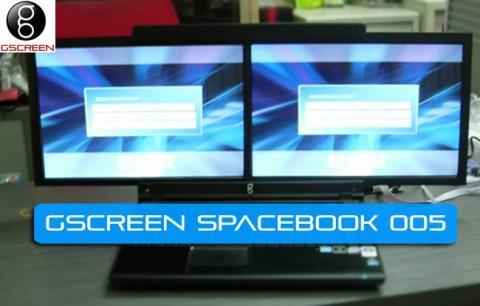 Prototyp des Spacebook 005 von gScreen