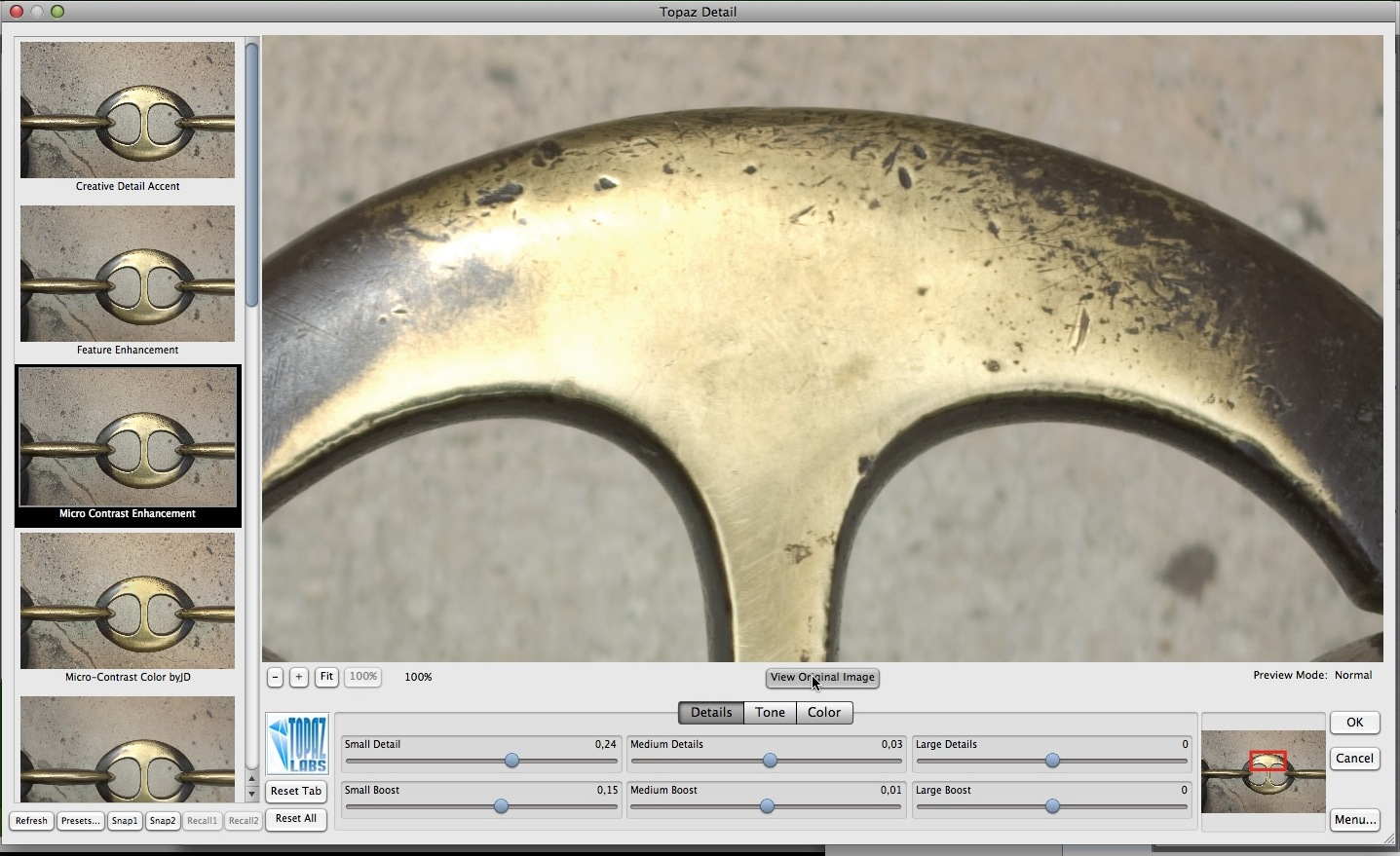 Neues Fotoschärfewerkzeug verspricht Artefakte-Freiheit -