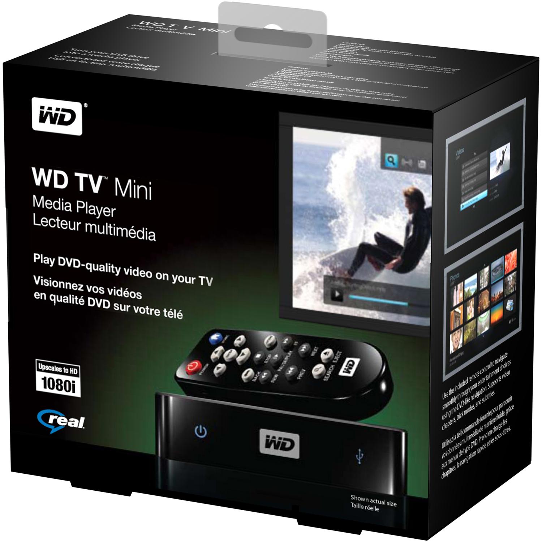 WD TV Mini als Videoausgang für Festplatten - WD TV Mini